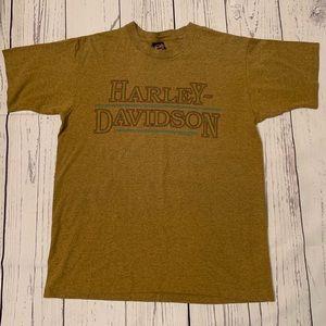 Vintage 1992 Harley Davidson shirt